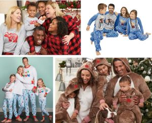 Cheap Matching Family Holiday Pajamas