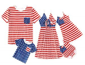 Family Matching 4th of July Outfits