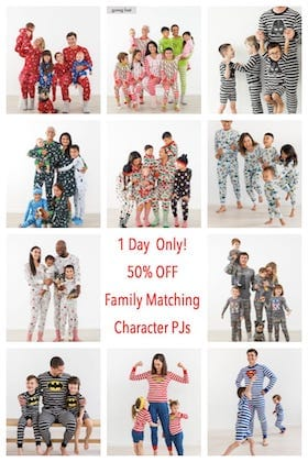Family Matching Character PJ Sale sb