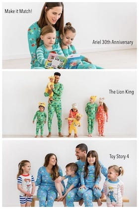 Family Matching Disney Pajamas