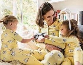 Family Matching Easter Snuggle Bunny Pajamas sb