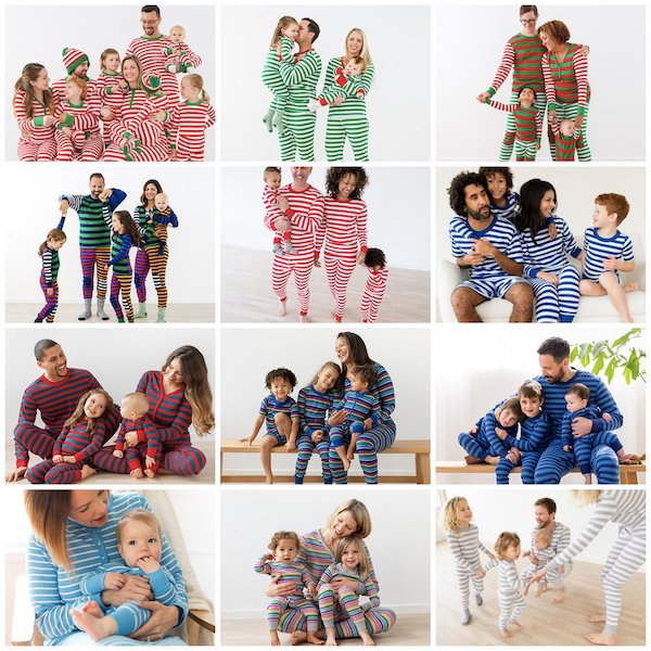 Family Matching Striped PJ Sale