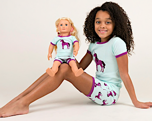 Girls & Dolls Matching PJs