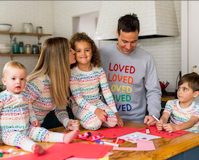 Matching Family Loved Pajamas sb