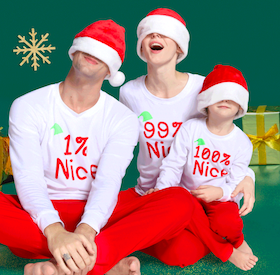 Matching Family Pajamas up to 80% OFF