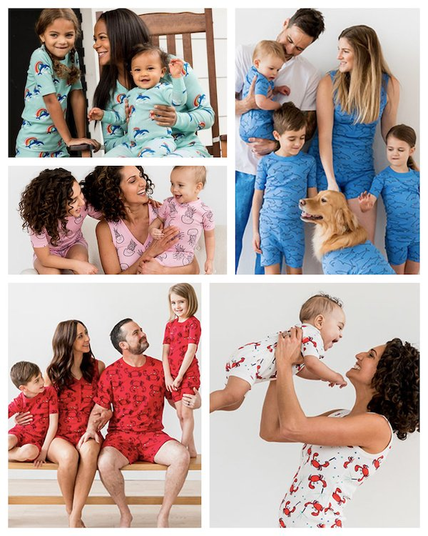 Matching Family Sea ZZZZs Pajamas