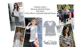Celebrity Moms Wearing Splendid Stripes