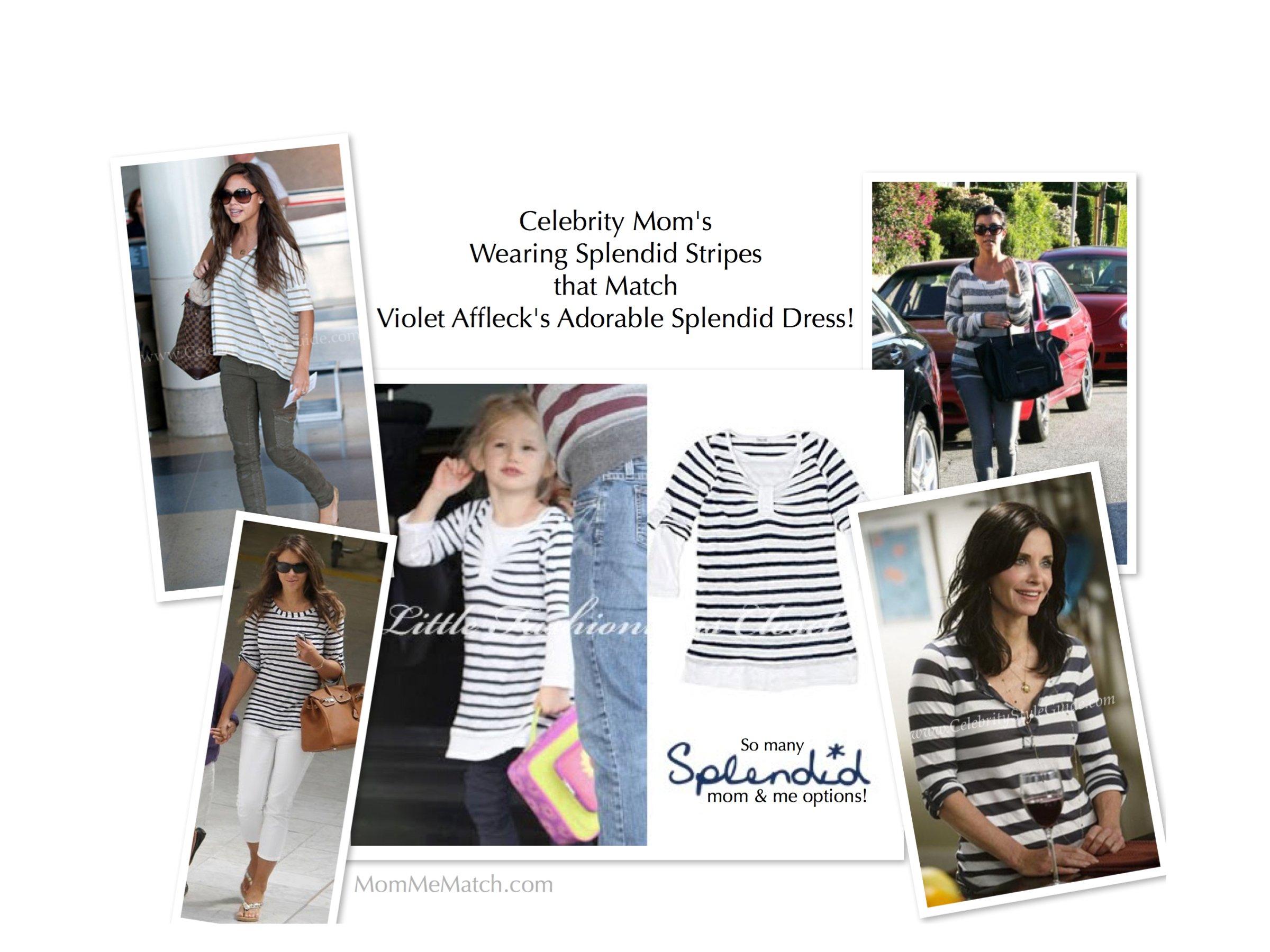 Celebrity Moms Wearing Splendid Stripes