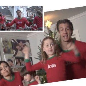 Happy Holidays Family Matching Pajamas