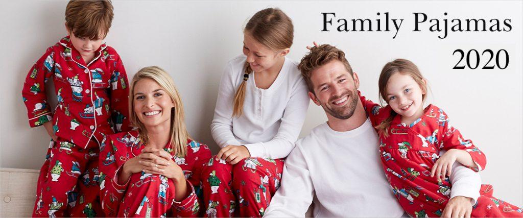 Matching Family Holiday Pajamas 2020