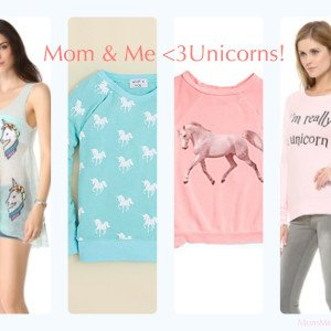 Mom & Me Matching Unicorn Shirts