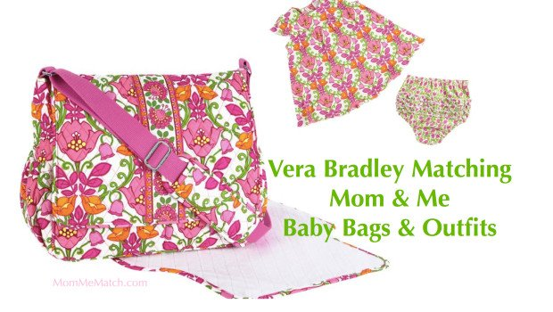 Vera Bradley Matching Mom & Me Baby Bags & Outfits