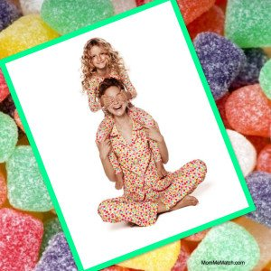 Mother & Daughter Matching Gumdrop Pajamas