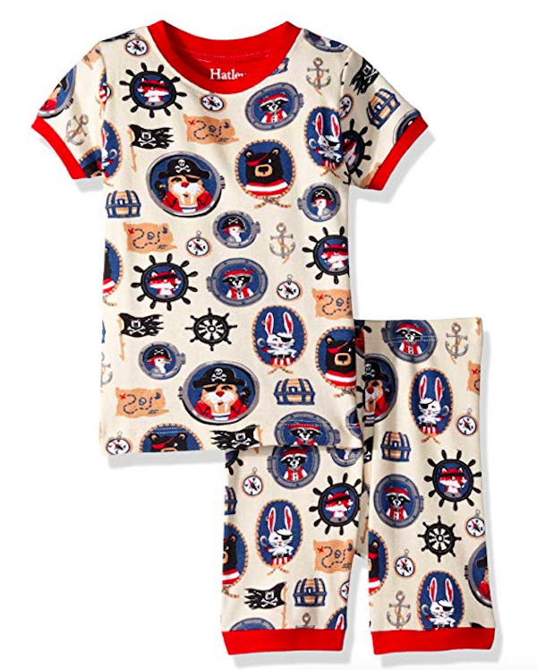 Boys Pirate Short Sleeve PJs