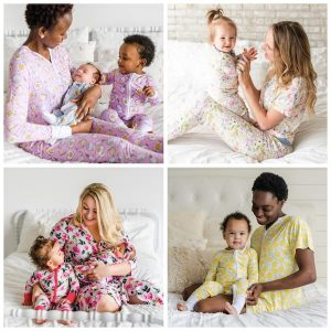 Mommy and Me Little Sleepies Bamboo Viscose Pajamas