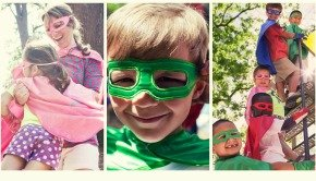 Family Fun Superhero Capes