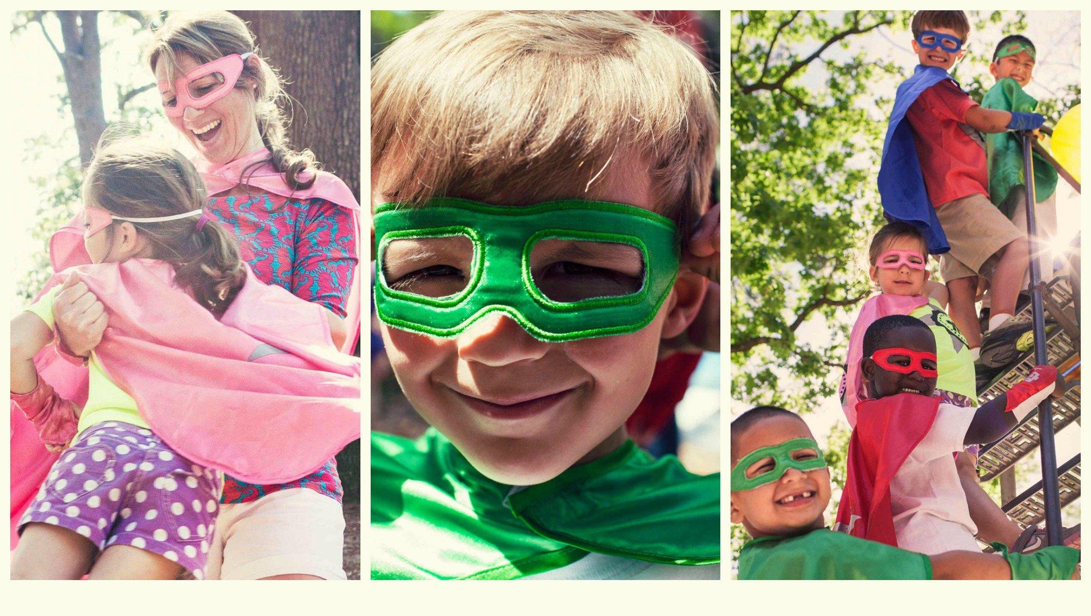 Family Fun Superhero Capes
