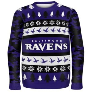 Baltimore Ravens Game Day Matching Ugly Sweaters