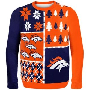 Denver Broncos Game Day Matching Ugly Sweaters