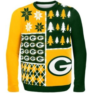 Green Bay Packers Game Day Matching Ugly Sweaters