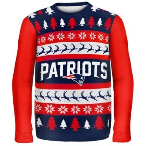 New England Patriots Game Day Matching Ugly Sweaters