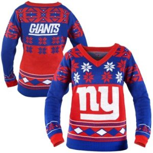 New York Giants Game Day Matching Ugly Sweaters
