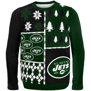 New York Jets Game Day Matching Ugly Sweaters