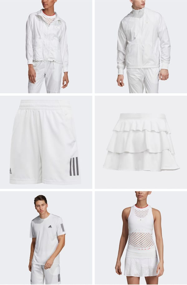 White Tennis Outfits for the Family