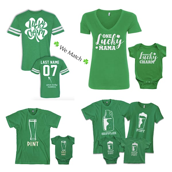 Family Matching St Patricks Day Shirts