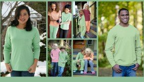 Matching Family Recycled Fiber Fleece Outfits