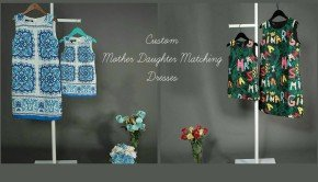 Custom Mother Daughter Matching Dresses