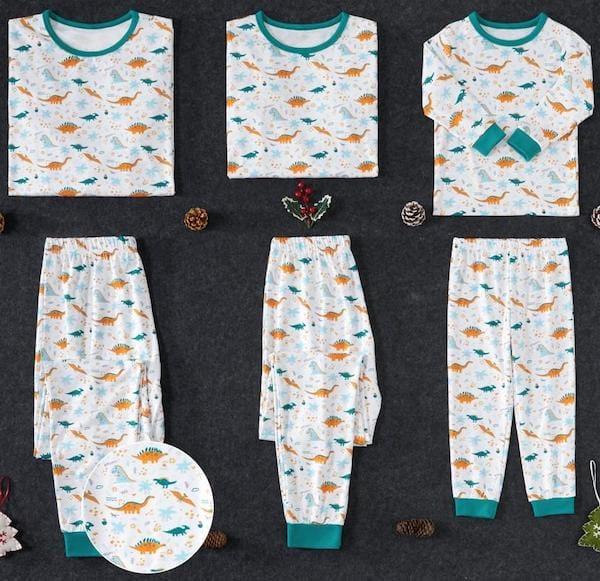 Family Matching Dinosaur Pajamas