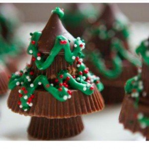 Candy Christmas Tree Treats