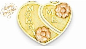 Mommy and Me Heart Pendant