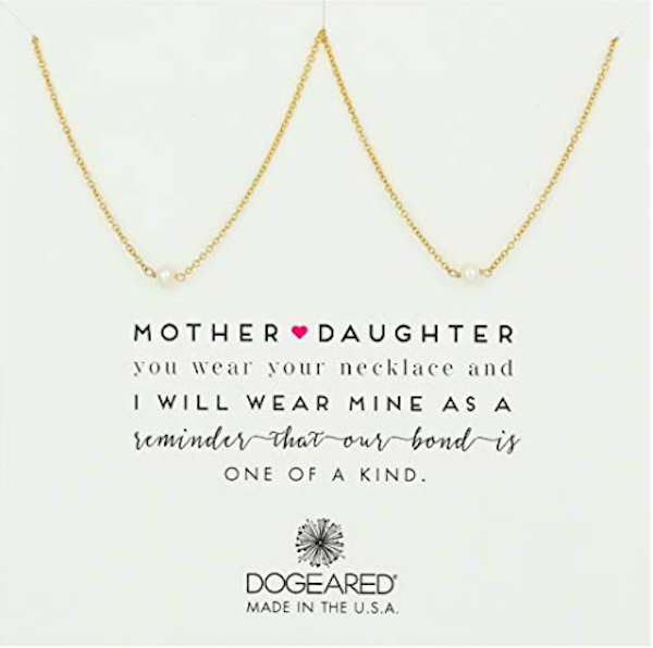Dogeared Mother & Daughter 2 Small Pearl Necklaces
