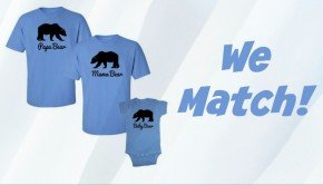 We Match! Mommy Daddy and Me T-Shirts, We Match! T-Shirts