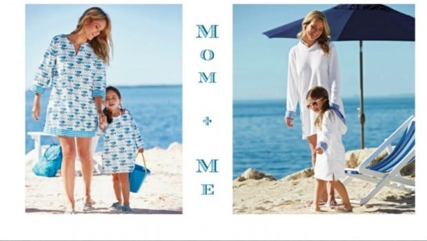 Mother Daughter Matching Beach Cover-Ups and Summer Tunics