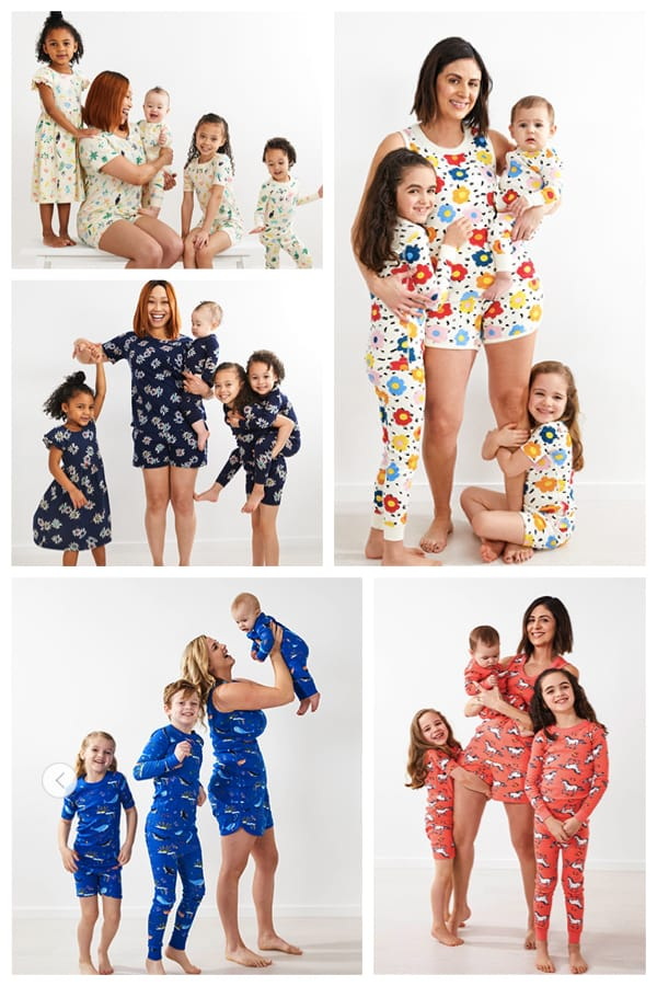 Family Matching Summer Pajamas