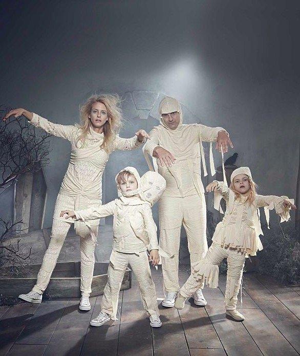 Glow In The Dark Halloween Pajamas