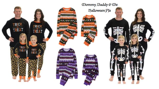 Mommy, Daddy & Me Halloween PJs