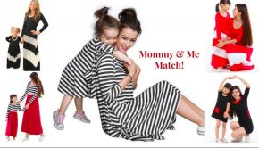Mommy and Me Matching Dresses