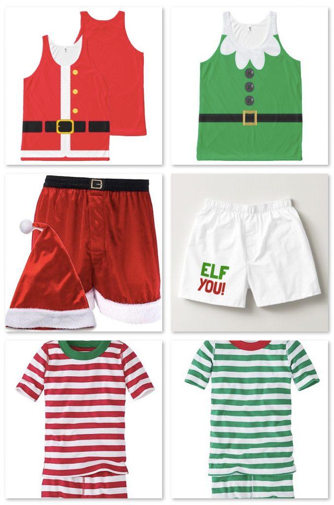 Family Holiday Short Pajamas