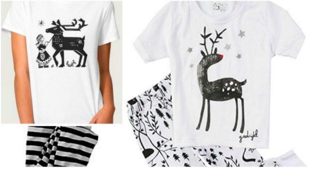 Summer Christmas Matching Family Pajamas