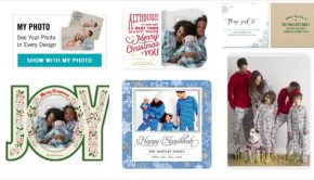 Matching Family Pajama Holiday Cards