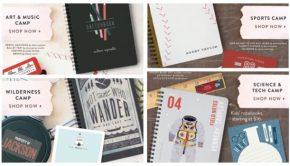 Summer Camp Name Labels, Journals, Stationery & Stamps