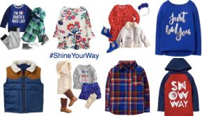 Cutest Winter Blue Outfits for Family Holiday Photos