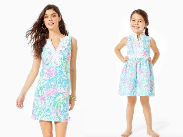 Multi Coral Bay Dress