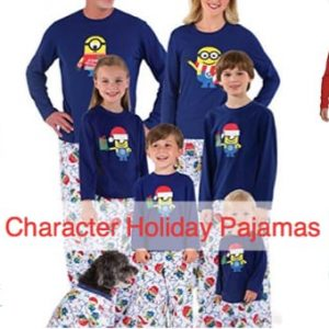 Family Matching Character Themed Christmas Pajamas