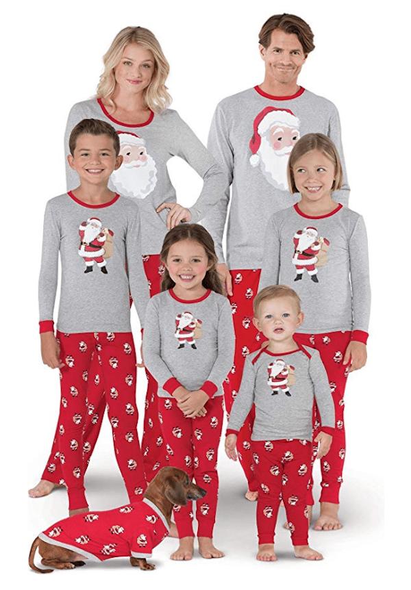 Saint Nick Family Pajamas