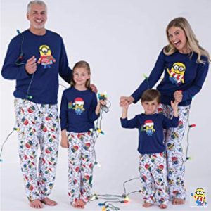 Pajamagram Family Matching Minion Christmas Pajamas